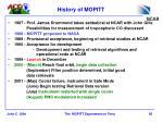 history of mopitt