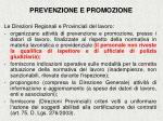 prevenzione e promozione