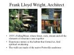frank lloyd wright architect49