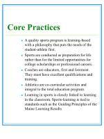 core practices13