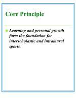 core principle12