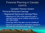 financial planning in canada cont d15