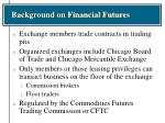 background on financial futures5