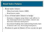 bond index futures
