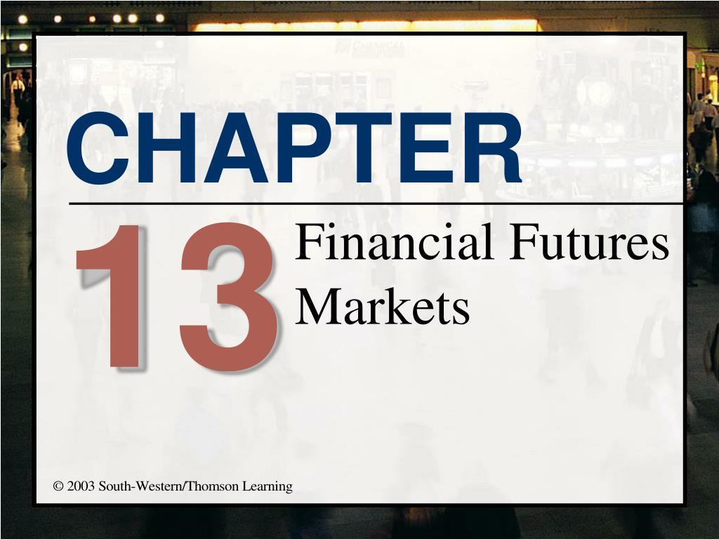 financial futures markets l.