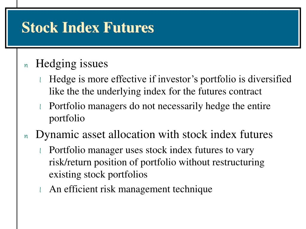 Stock Index Futures