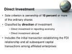 direct investment18