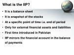 what is the iip