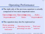 operating performance36