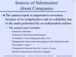 sources of information about companies4