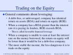 trading on the equity45