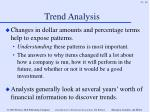trend analysis16