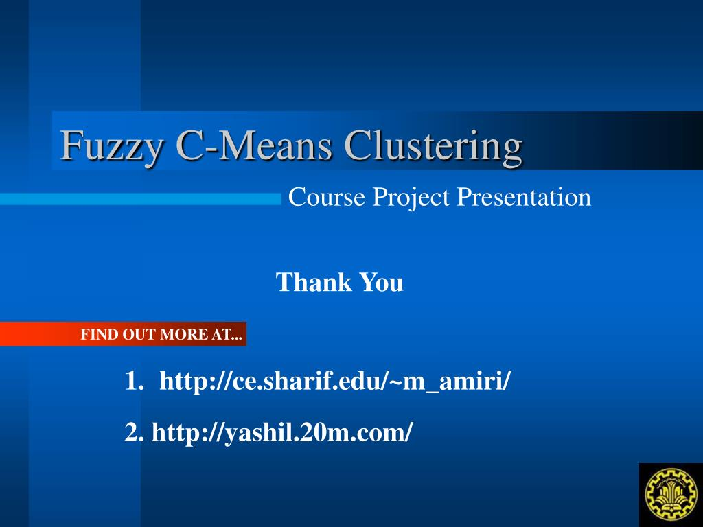 PPT - Fuzzy C-Means Clustering PowerPoint Presentation - ID