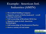 example american intl industries amin