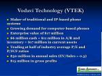 vodavi technology vtek