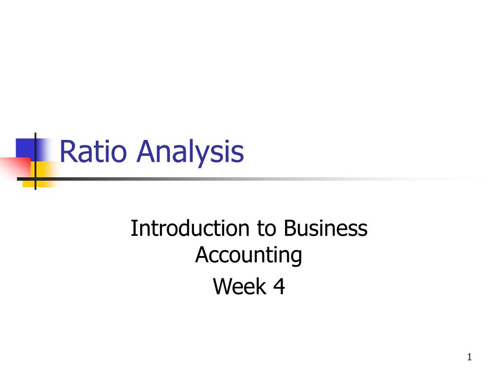 ratio analysis l.