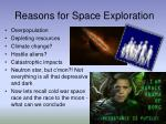 reasons for space exploration