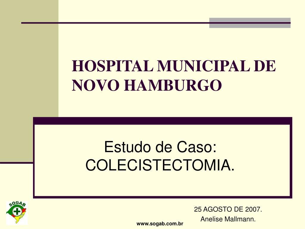 hospital municipal de novo hamburgo