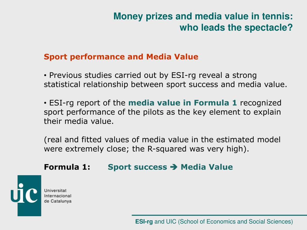 Sport performance and Media Value