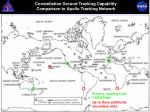 constellation ground tracking capability comparison to apollo tracking network