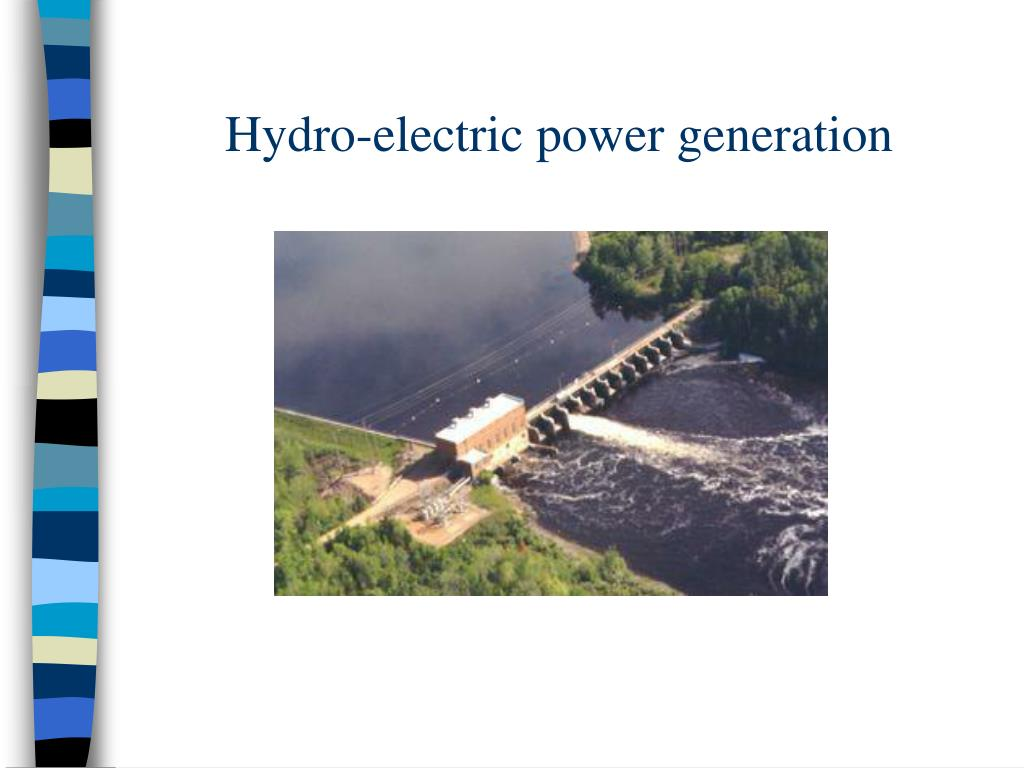 hydro electric power generation l.