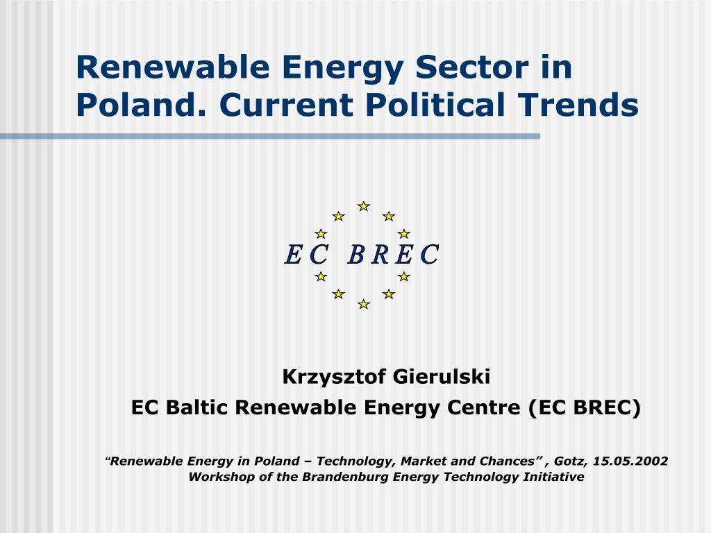 renewable energy sector in poland current political trends l.