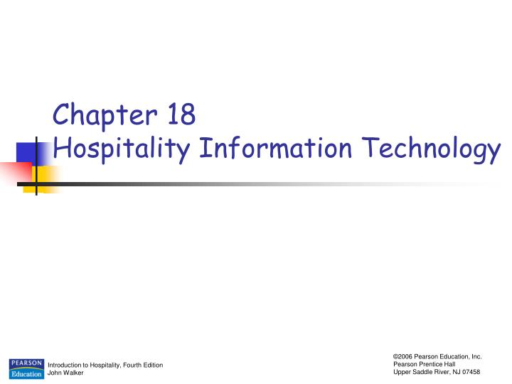 chapter 18 hospitality information technology n.