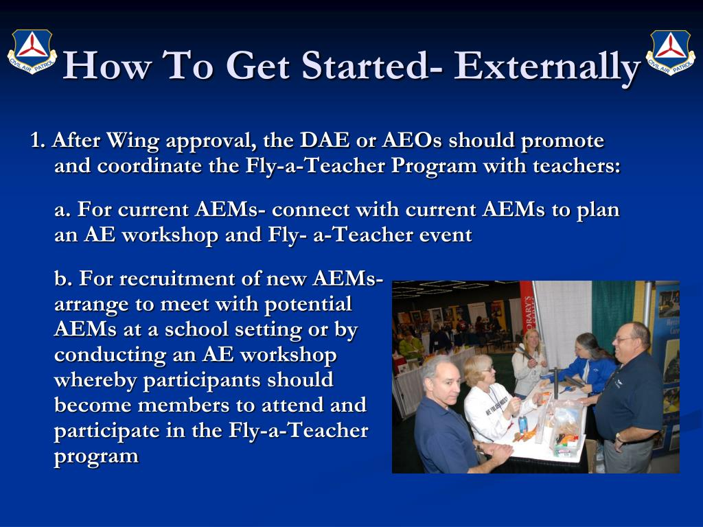 How To Get Started- Externally