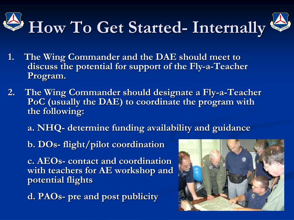 How To Get Started- Internally