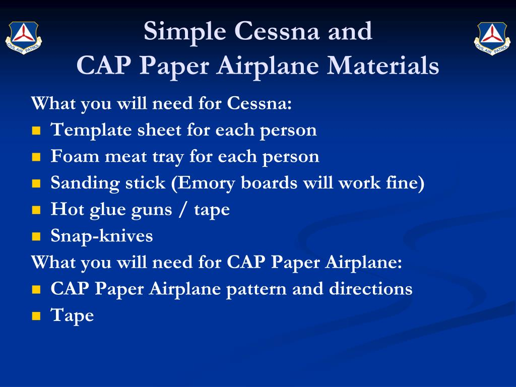Simple Cessna and