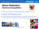 glove selection chemical compatibility