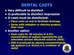 dental casts