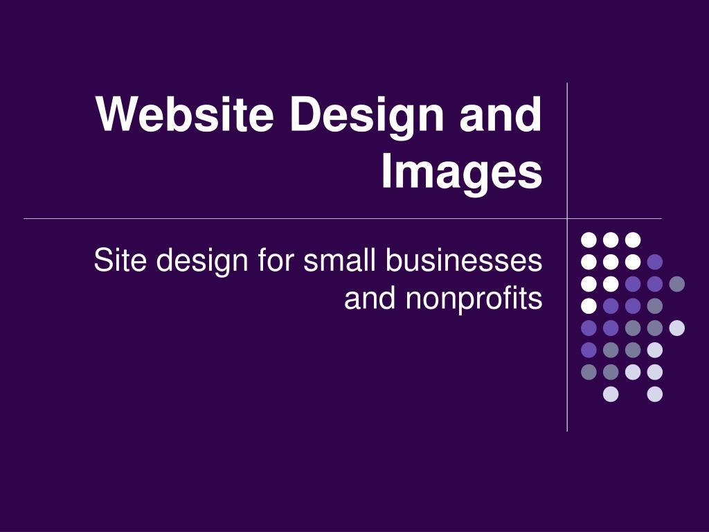 Website Design and Images