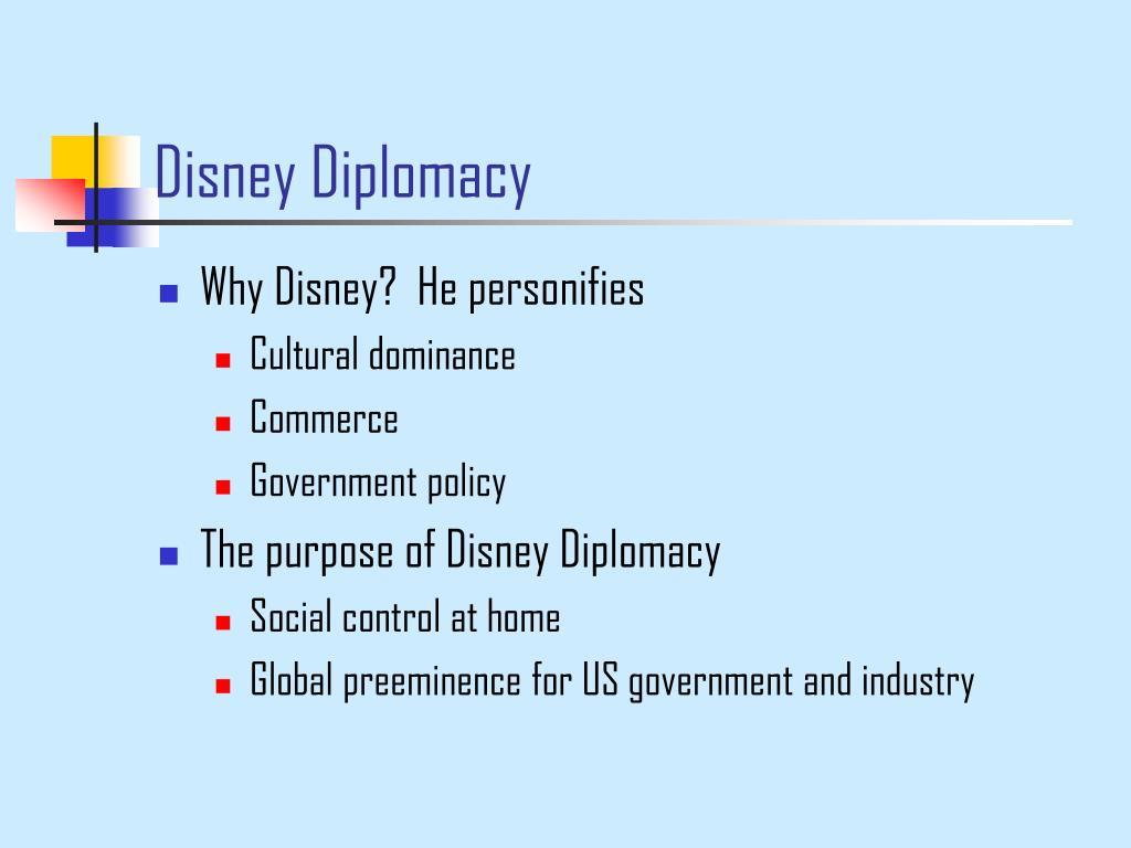 Disney Diplomacy