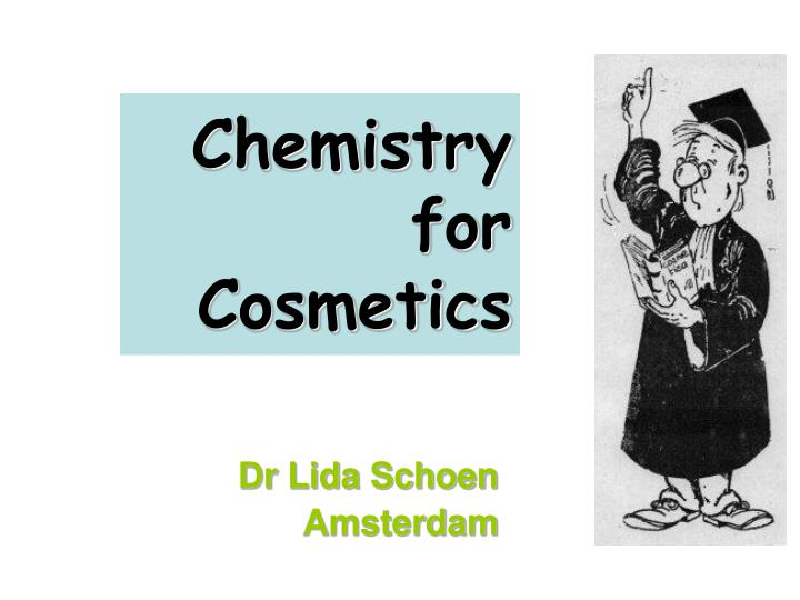 chemistry for cosmetics n.