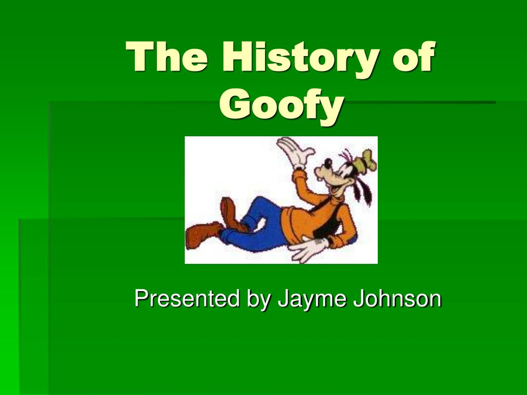the history of goofy l.
