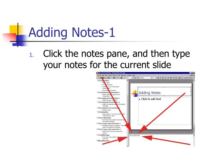 Adding Notes-1