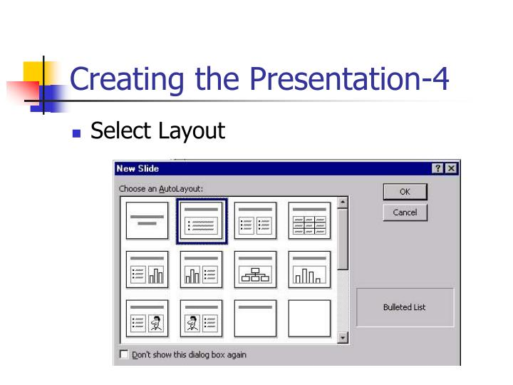 Creating the Presentation-4