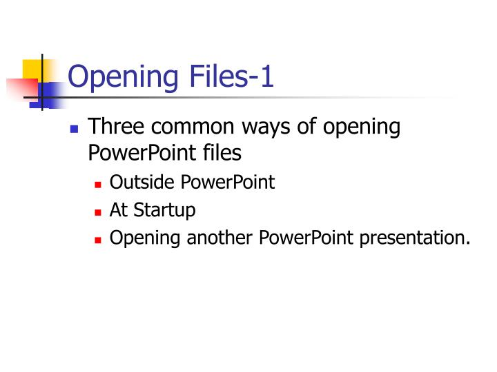Opening Files-1
