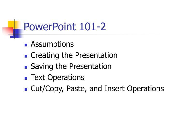 Powerpoint 101 2