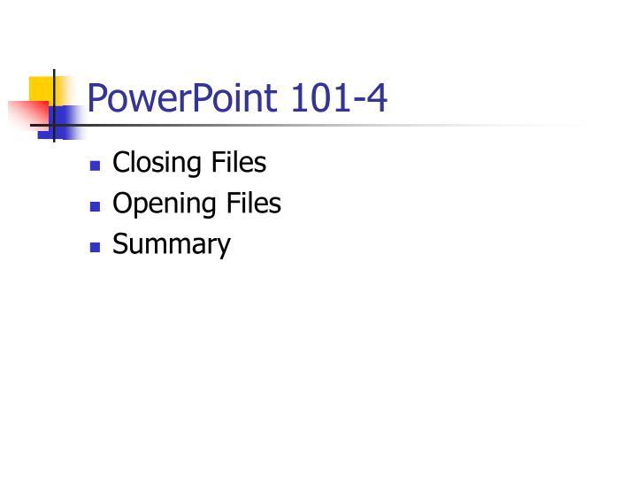PowerPoint 101-4