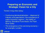 preparing an economic and strategic vision for a city4