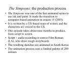 the simpsons the production process
