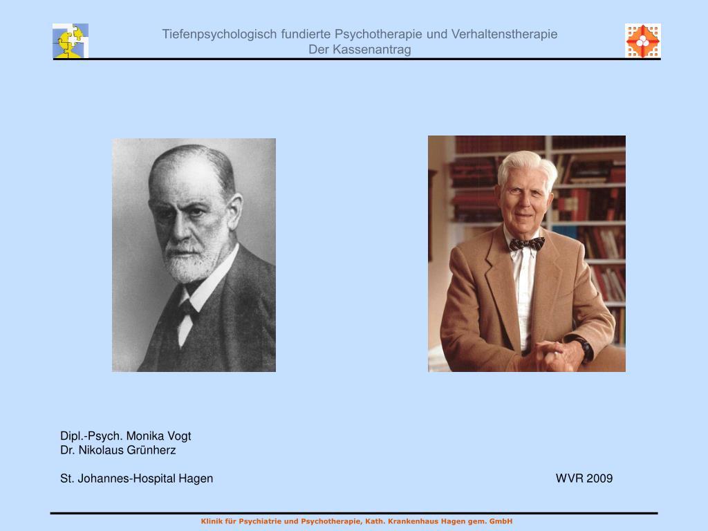 Ppt Dipl Psych Monika Vogt Dr Nikolaus Grünherz St Johannes