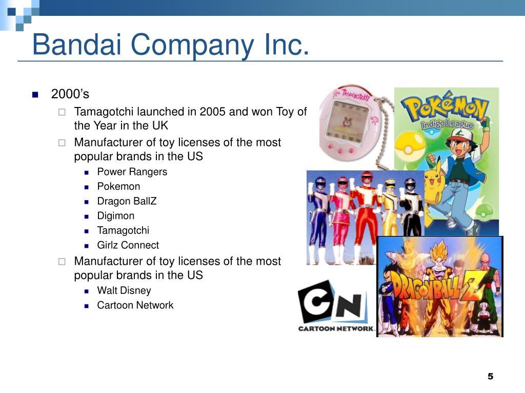 Bandai Company Inc.