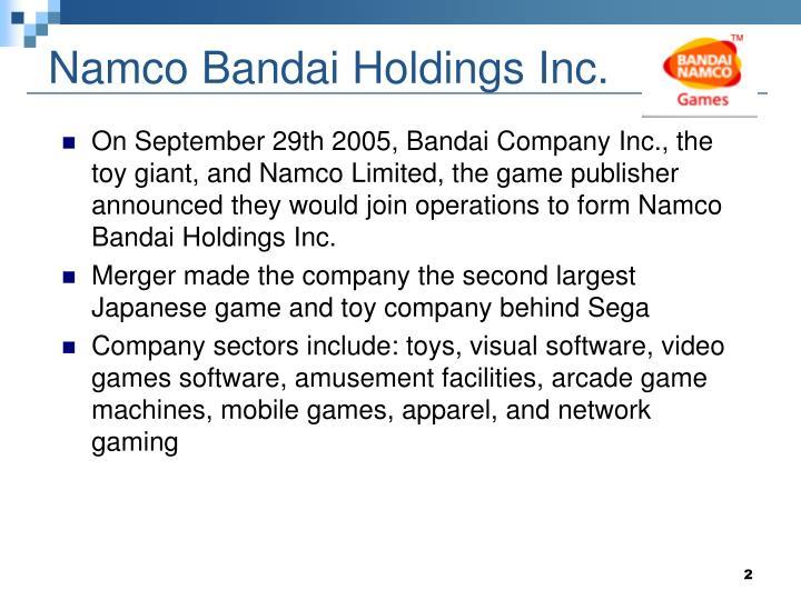 Namco bandai holdings inc