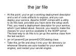 the jar file