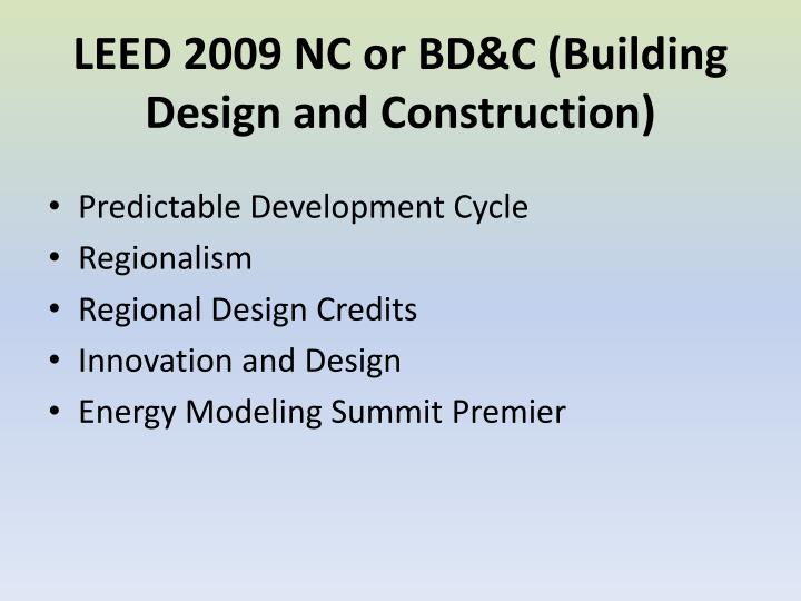 Ppt leed 2009 tiered system and maintenance powerpoint for Leed building design