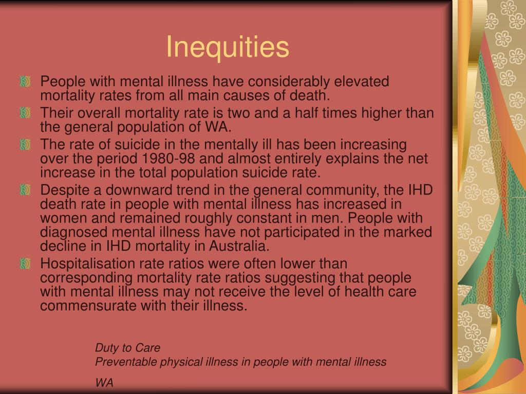 Inequities