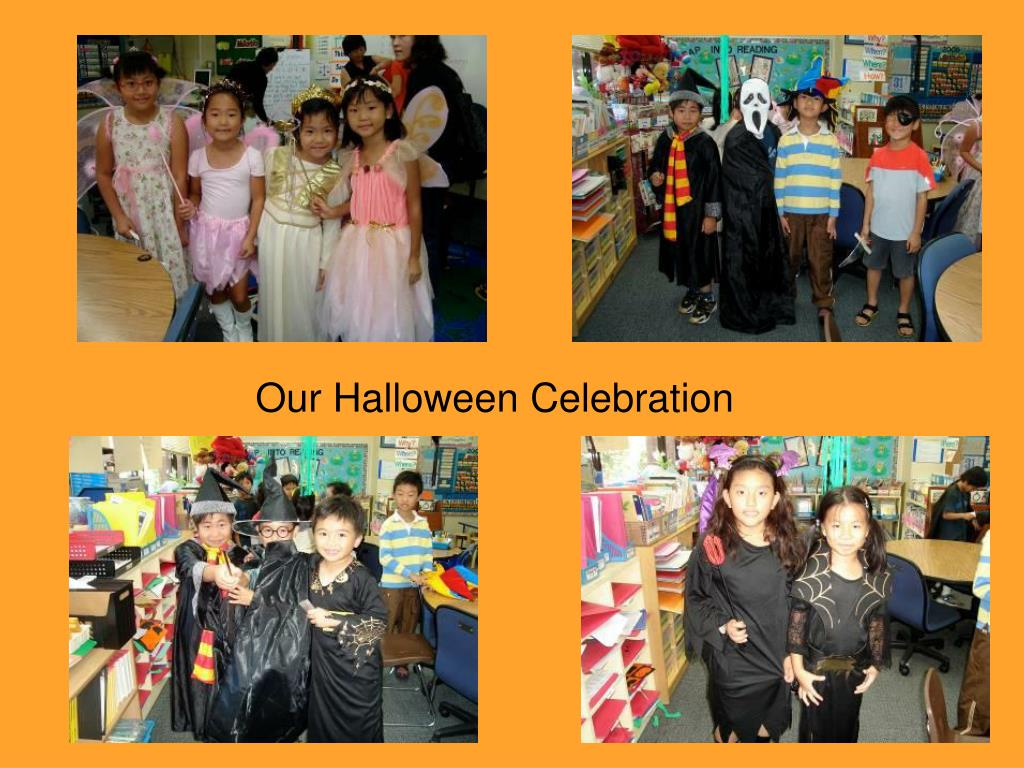 our halloween celebration l.